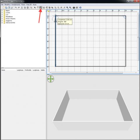 Sweet home 3d un software gratuito per aspiranti - Progettare bagno 3d ...