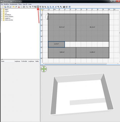 Sweet home 3d un software gratuito per aspiranti for Programma arredamento 3d