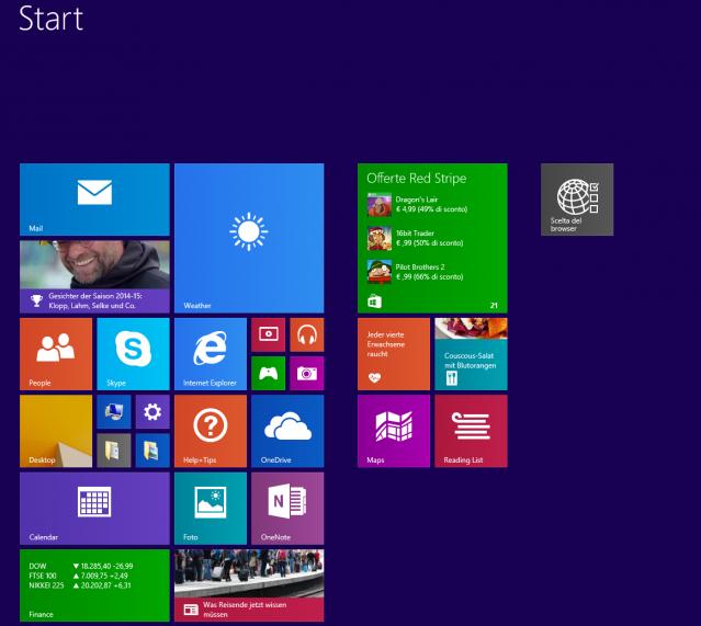 Accedere direttamente al desktop all'avvio di Windows 8.1