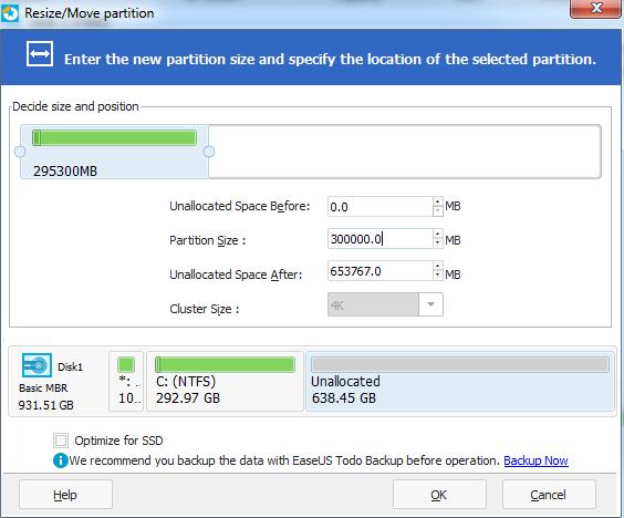 Partizionare un hard disk