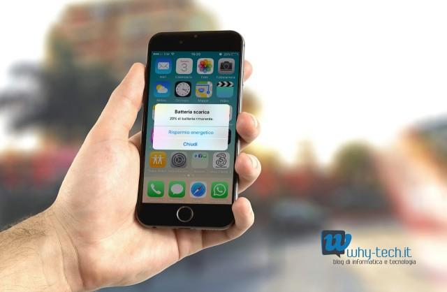iPhone, come attivare la funzione di risparmio energia su iOS 9