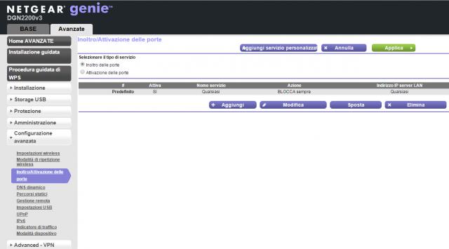 Aprire le porte TCP E UDP del Modem Router per Playstation Network e giochi Sony.